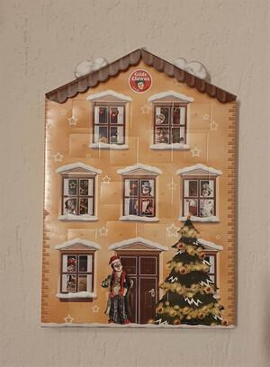Adventskalender, original mit Schokolade