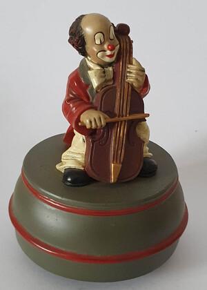 35669   Spieldose Cellist   1996