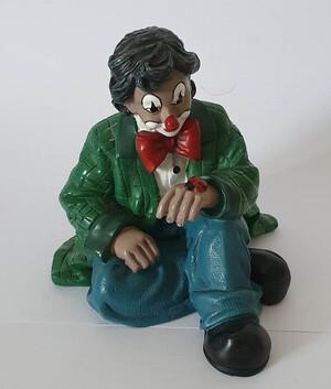 35700   Clown mit Marienkäfer, grün   1997