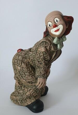 35224-1.C   Clown, Käfer auf Po, bräunlich/lila   1989