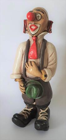35119-1   Clown mit grünem Hut   1986