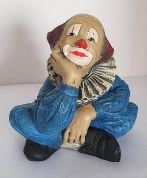 2601.80   Clown nachdenklich, blau
