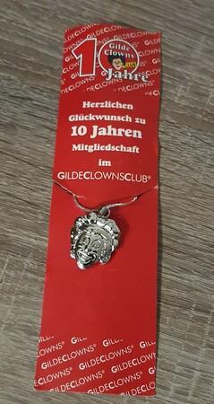10150   Kette 10 Jahre Gilde Clowns Club   2007