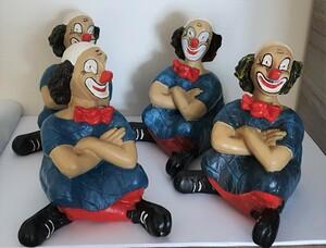 35141 & 14116   Clown, verschränkte Arme   1987