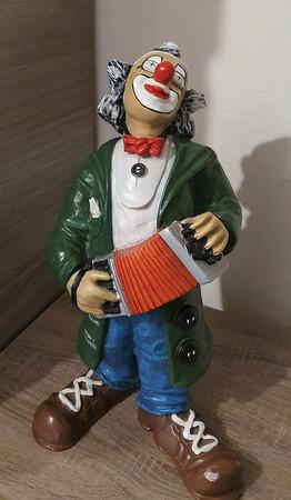 35117-1   Clown, Akkordeon   1986