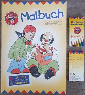 90133   Malbuch mit Buntstiften   2001