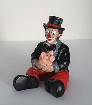 35083.C   Glücksbringer, rote Hose, schwarzer Frack   2006
