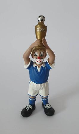 35058.B   Champion, blau/weiß, goldener Pokal zur WM 2006   2006