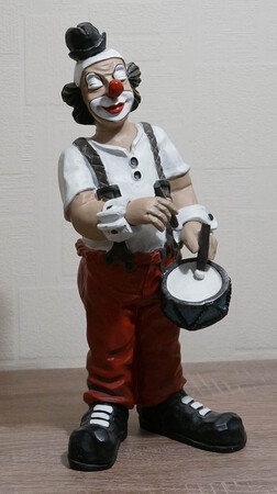 35261-1   Clown, Trommel   1990