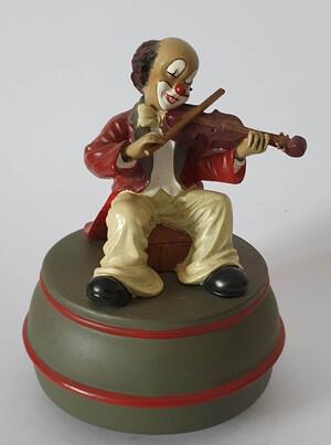 35674   Spieldose Violinist   1996