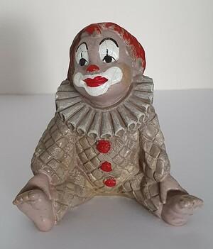 35327-1   Clown-Baby, sitzend   1992