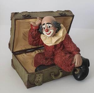 35664   Kofferclown, rote Jacke, klein   1996
