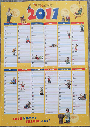 Kalender11  Wandblatt