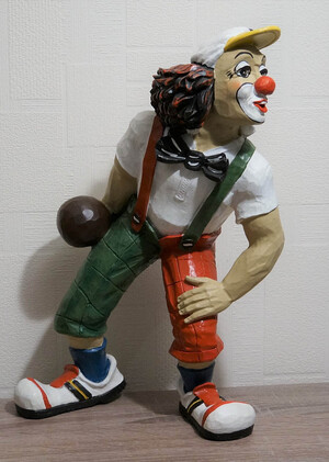 35292-1   Kegler, mit Mütze   1990
