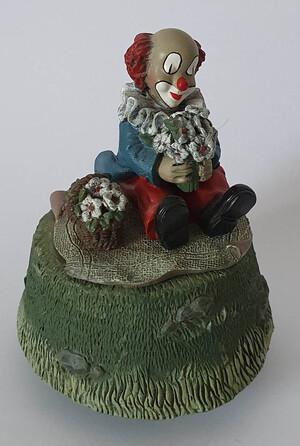 35517.B   Spieldose Kleine Blumenfreunde   1995