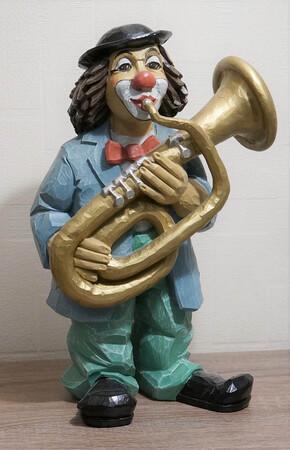 35249-1   Tubaspieler, pastellfarben   1997