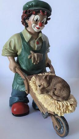 35837   Florian der Gärtner mit Katze   1999