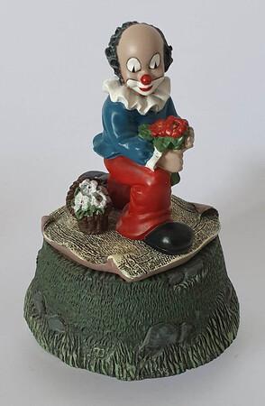 35655.B   Spieldose Blumenfreunde   1996