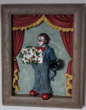 35683   Wandrelief Manegen-Clown   1996