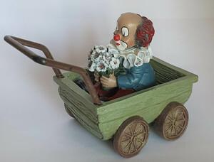 35621.C   Blumige im Kinderwagen   1996