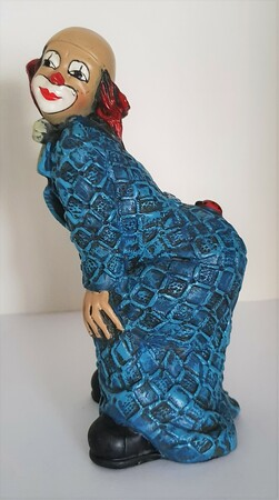 35223-1.B   Clown, Käfer auf Po, blau, Variante 2   1989
