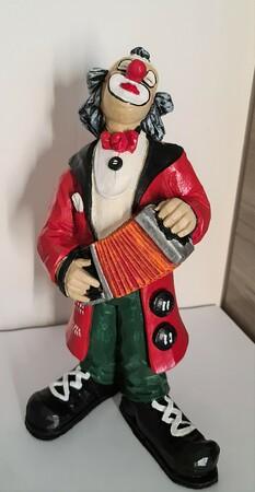 14108   Clown mit Akkordeon   1987