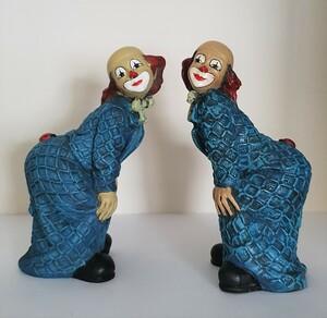35223-1   Clown, Käfer auf Po, blau, beide Varianten   1989