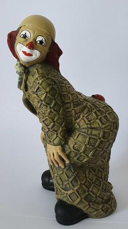 35224-1.B   Clown, Käfer auf Po, gelblich, Variante 2   1989