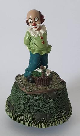 35655.A   Spieldose Blumenfreunde   1996