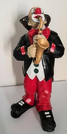 35262-1   Clown, Saxophon   1990