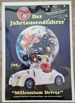 Plakat, laminieret   Der Jahrtausend Fahrer