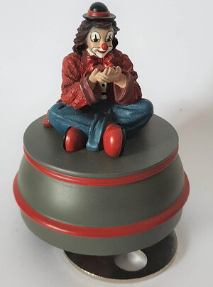 35856.A   Spieldose Marienkäfer, mit Hut   2000
