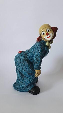 2689.80.a   Clown, Marienkäfer auf Po, blau
