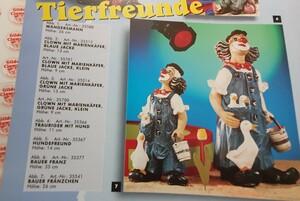 35377 & 35541  Bauer Franz und Bauer Fränzchen mit Gans auf rechtem Fuß